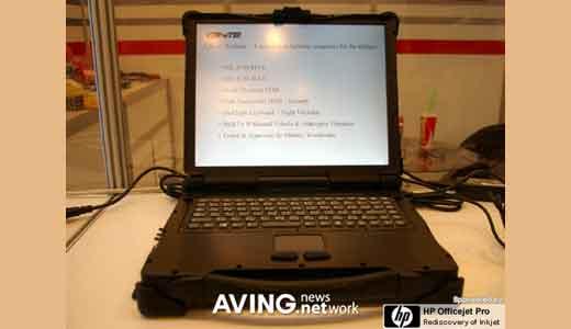 Crete ROCKY III Laptop
