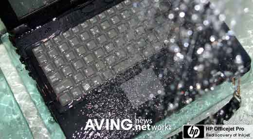 Believe It Or Not: Crete ROCKY III Water-proof Laptop
