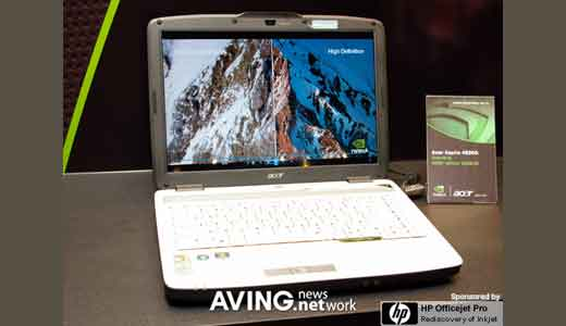 (Image: Lenovo F31 Laptop; Credit: AVING.net) We know NVIDIA is already announced the newest GPU from its GeForce 8M lines: 8700M GT, but before the GPU adopted by major laptop manufacturers, various laptop that already adopted the early model/ NVIDIA GeForce 8400 GS graphic cards are displayed during COMPUTEX 2007, […]
