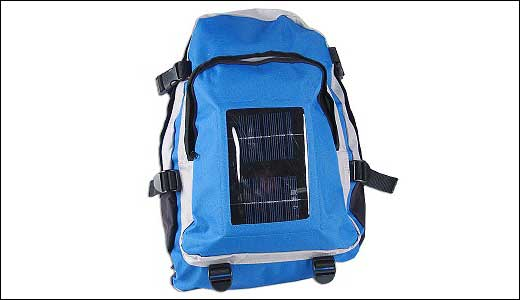 Water Resistant Solar Charging Backpack