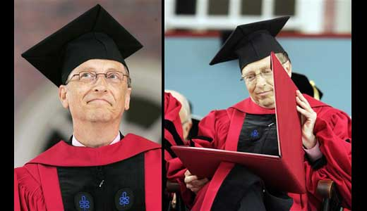 "(Dr. Bill Gates; Credit: www.reuters.com) After more than 30 years finally Bill Gates got his degree. As reported by Reuters, Dr. Bill Gates said to crowd included his father, ""I've been waiting for more than 30 years to say this, Dad, I always told you I'd come back and get […]"