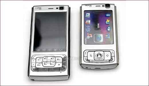 E-PDA V16 vs N95