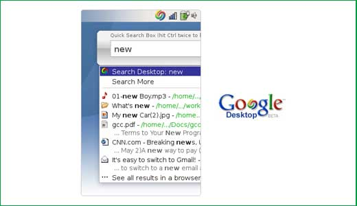 Linux is a new operating system compare to OS X and Windows, that is why the Linux version of Google desktop coming late. Like the other versions, the Linux version also indexes text inside documents, email messages and Gmail accounts but unlike the Windows/OS X version, it doesn't have sidebar […]