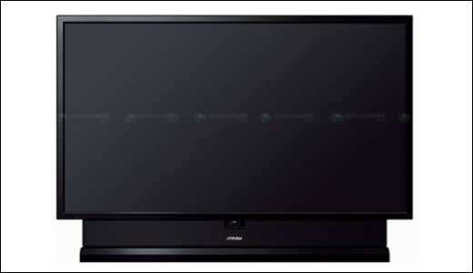"2.8 meters High-Def Television ""JVC HD-110MH80″"