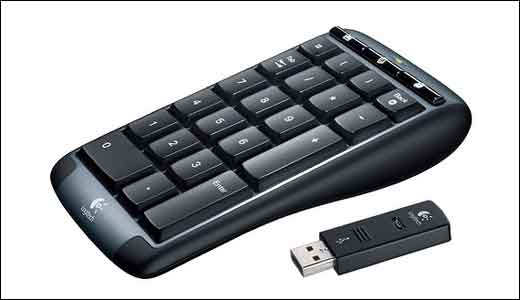Logitech Cordless Number Pad