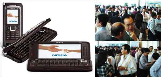 Nokia E90 Hit Indonesia