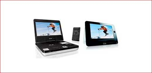 Various Philips Portable DVD Players Available