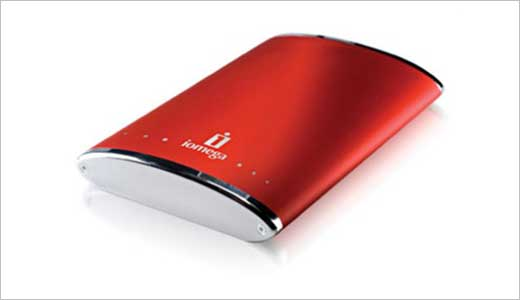 Iomega EGO Portable Storage With 160GB Capacity