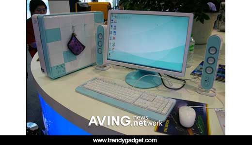 PC CoCo M208 manufactured by Tsinghua Tongfang and it was introduced during SINOCES 2007 in China. Before we talk about the cute color, lets mention its technical specifications, the PC is configured with AMD 3600+ (AM2) processor, 1024MB of memory, and 160GB of HDD. The widescreen monitor driven by 128MB […]