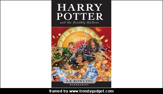 harry potter books series. The final ook of Harry Potter
