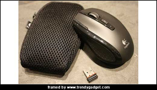 Logitech VX Nano Wireless Mouse Through 2.4GHz Connection