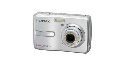 New Optio E40 Digicam From Pentax