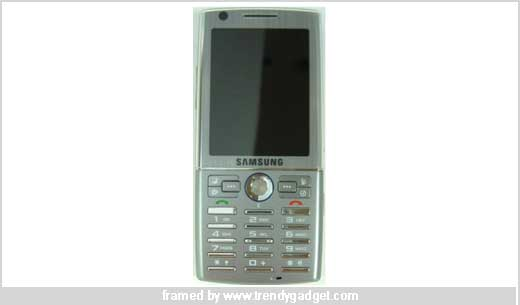 The Upcoming Samsung i550 GPS Enabled Phone