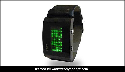 Ximax LED Dot Matrix Watch Look Like a Classic Electronic Board