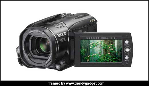 The New JVC GZ-HD3 Camcorder