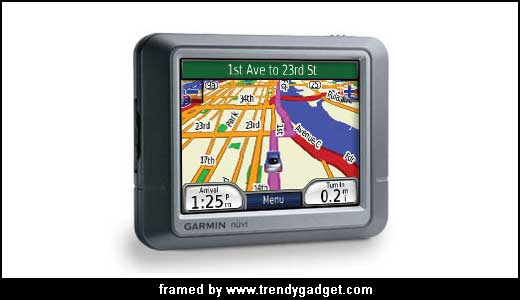 The New Garmin Nuvi 260 GPS
