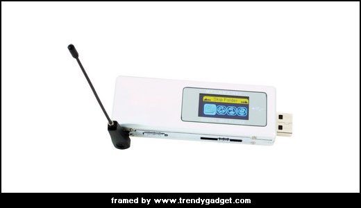 USB devices make our life even more simple, don`t they? take a look at this MP3 player, able to store more than 700 MP3 file, it is also equipped with FM transmitter to broadcast your music to your car via FM. This player also support WMA music file as well […]