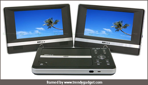 CIMA Dual Monitor DVD player