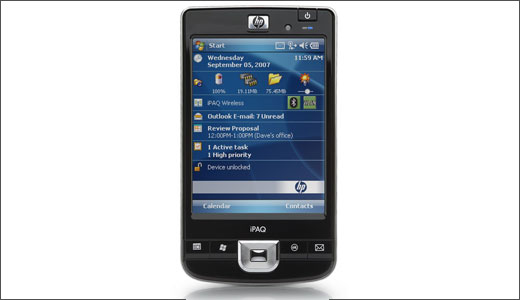 HP iPAQ 200 Enterprise Handheld