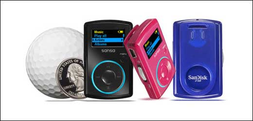 The Sansa Clip is coming to join iPod shuffle or Zen Stone to get some shares of the mini MP3 player market. This new player from Sandisk available in 1 GB or 2GB models and able to play MP3 as well as WMA format. It is also has extra features […]