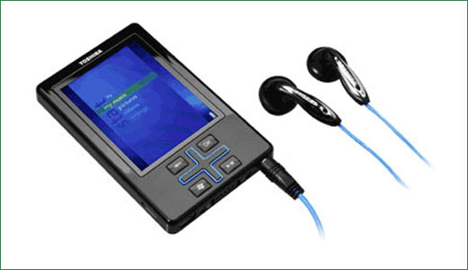 The New Toshiba Gigabeat T400