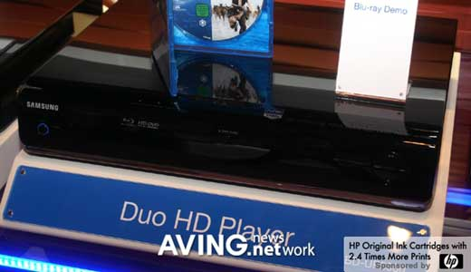 AVING reported that Samsung BD-UP5000 Duo HD player will be available in the US shops in the last month of this year. And i found this combo HD player is already shown off at Amazon.com so the reports seem valid. The BD-UP5000 can play Blu-Ray and HD DVD movies at […]