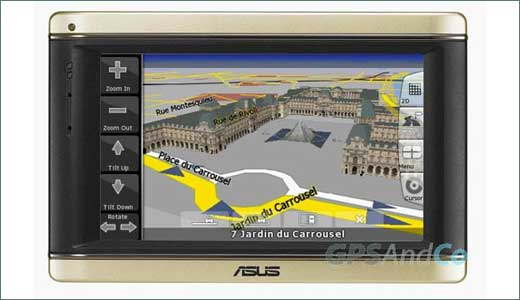 ASUS readying R700 GPS