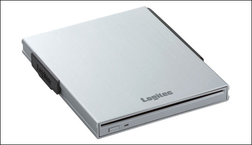 Logitec 18mm Slim USB DVD burner