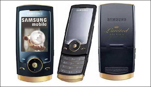 Samsung U600 Black Gold Limited Edition