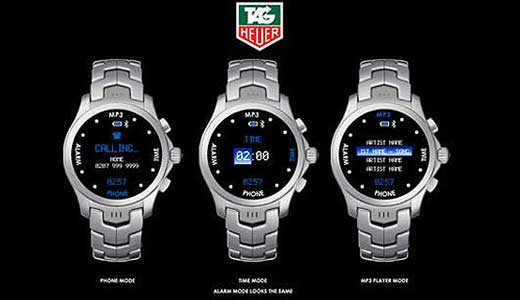 Tag Heuer Watch Phone Coming in 2008