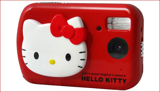 Featuring 5 megapixels CMOS sensor, the EXEMODE DC500 now ready to fill the need of Hello Kitty fans as well as red lovers. Look like a plastic toy, this digicam boasts 4x digital zoom, 2.0-inch TFT LCD screen, and 32 MB internal memory. The red DC500 digital camera is also […]