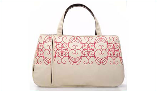 Available at delight.com for $58.00, the stylish Persida Lapsac is made to fit perfectly to your MacBok. Produced by Nanda Home, the Lapsac comes in white and pink design that make it so feminine. Along with your laptop, this bag allows you to store any other women things such as […]