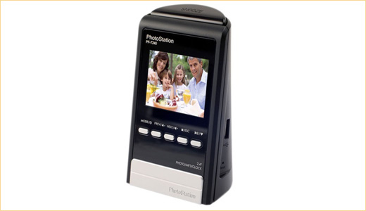5-in-1 Digital Photo Frame from Mustek: PF-D240