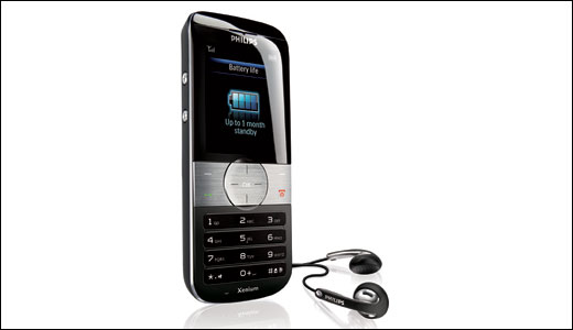 Philips Xenium 9@9u Black