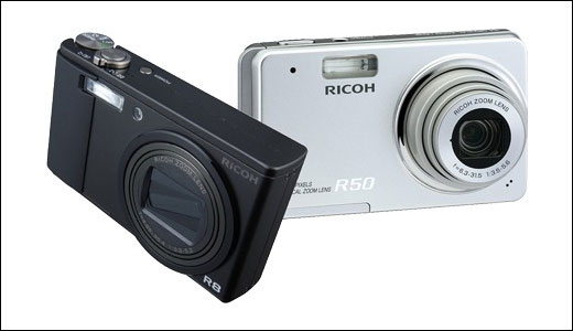 Ricoh R8 and R50 Digital Camera