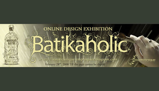 Batikaholic Online Design Exhibition showing off various gadget with batik theme. Batik is a well known traditional art originates from Indonesia (not Malaysia). The mentioned gadget including Asus laptop, Sony Ericsson mobile phone, and headset. All the great works done by Indonesian visual designer including Boney Tidarma, Dwi Bagus Prabowo, […]