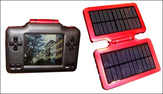 New Solar Powered Media Player by eMotion