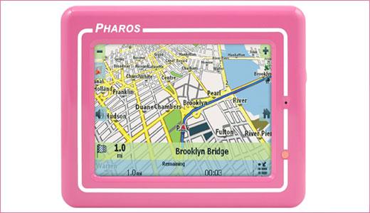 Pink Pharos Drive GPS 150