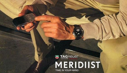 Meridiist Cell Phone  by Tag Heuer