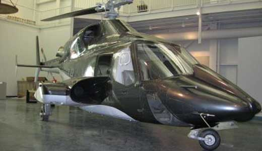 Airwolf Helicopter Replica