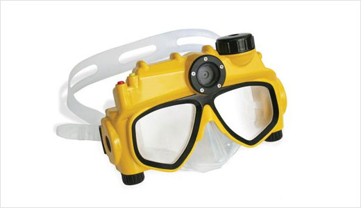 Waterproof Digital Camera Swim Mask