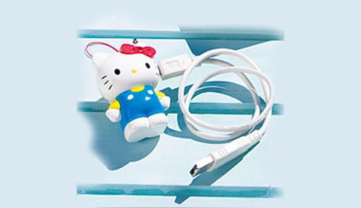 Nothing special with this USB memory except its Hello Kitty theme. Compatible with Windows 2000/XP/Vista and Mac OS 10.3 (did i mention Linux?), this 512 MB USB memory measures 4.5 x 3.5 x 6.3 cm. What do you think? it's cute right.. but it's only 512MB, i think you need […]