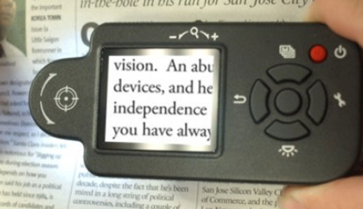 I-VU Portable Digital Magnifier