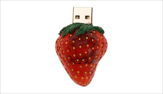 USB Flash Drive - Strawberry
