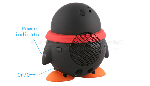 USB Mini Penguin Speaker