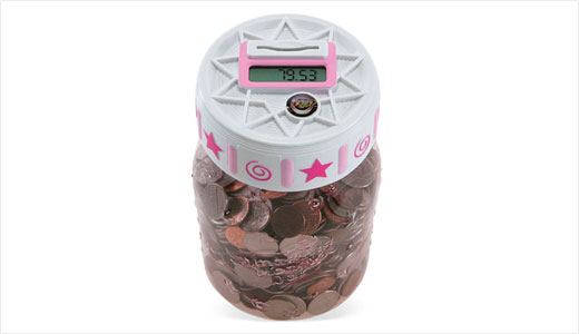 Money Jar Bank with Digital Coin Counter