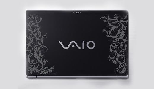 Custom Carbon Case of Vaio Z90