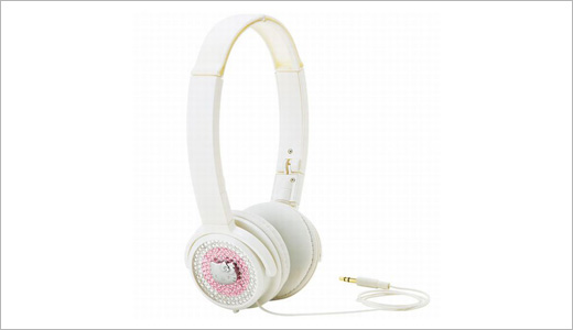 Sanrio's Hello Kitty earphones, specifically advertised to enhance your