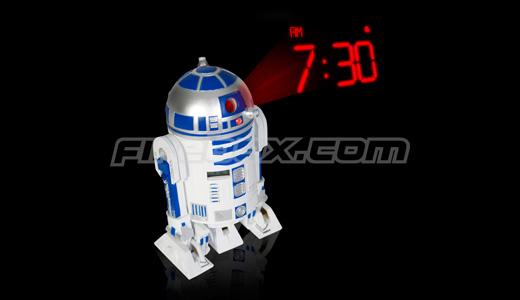 R2D2 Projection Alarm Clock