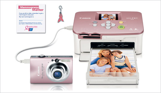 "PowerShot SD1100 IS / SELPHY CP760 - ""Pink"" Bundle"